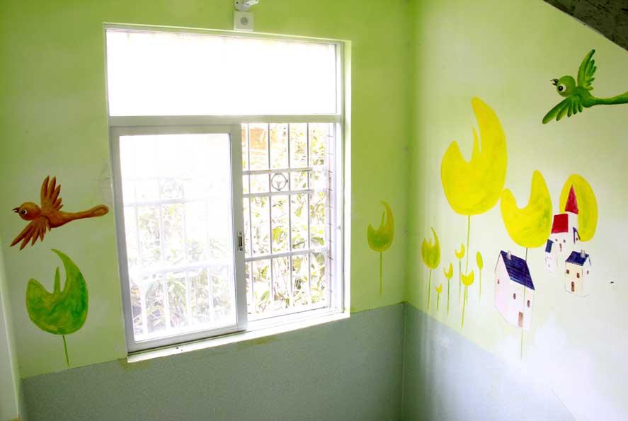 景德镇手绘古建筑,景德镇墙体彩绘,景德镇涂鸦墙,景德镇墙体喷绘广告