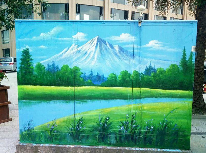 景德镇墙体涂鸦,景德镇涂鸦墙体,景德镇墙体绘画,景德镇绘画墙体