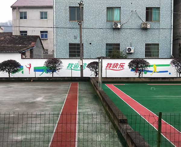 景德镇美丽乡村墙绘,景德镇幼儿园墙壁绘画,景德镇幼儿园墙面绘画