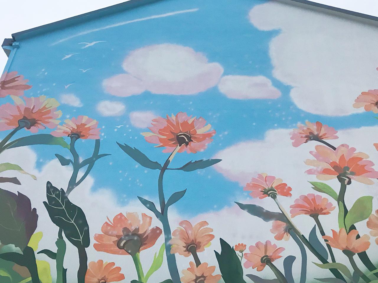 景德镇墙体彩绘文化墙,景德镇文化墙墙体彩绘,景德镇墙画涂鸦