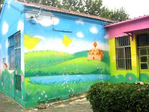 景德镇手绘彩绘墙,景德镇立体画,景德镇手绘墙体,景德镇墙绘3d