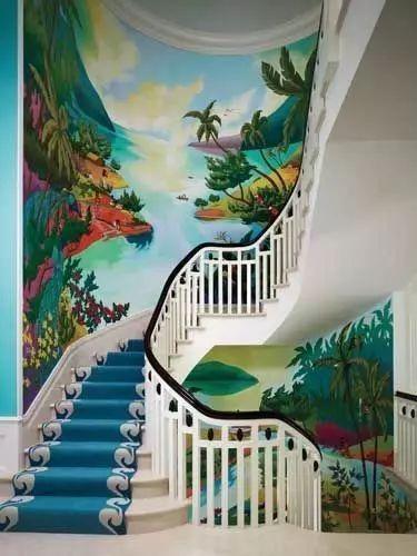 景德镇幼儿园涂鸦,景德镇墙面涂鸦,景德镇室外墙体喷绘,景德镇彩绘古建