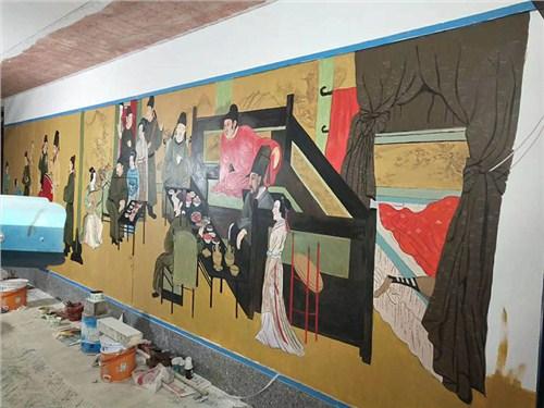 景德镇幼儿园涂鸦墙,景德镇墙体画画,景德镇绘画公司,景德镇古建绘画