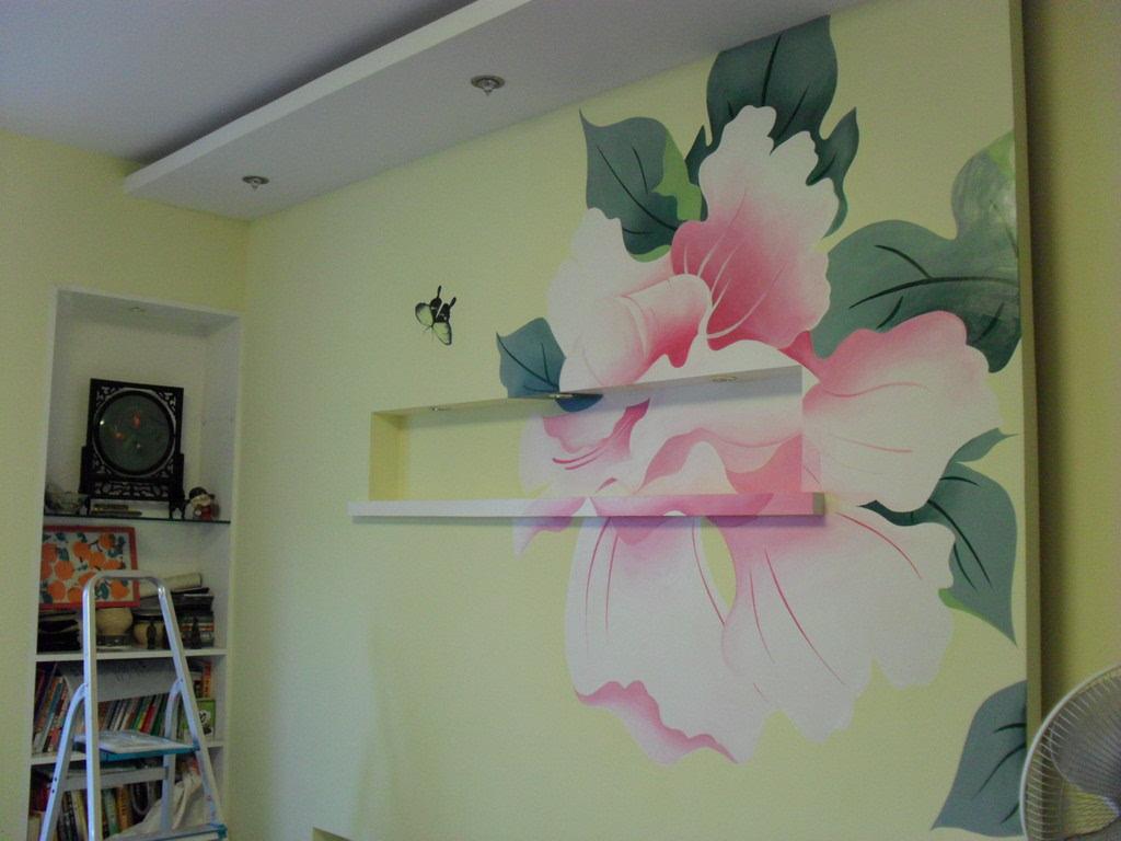 景德镇乡村墙体彩绘,景德镇幼儿园手绘壁画,景德镇餐厅手绘画