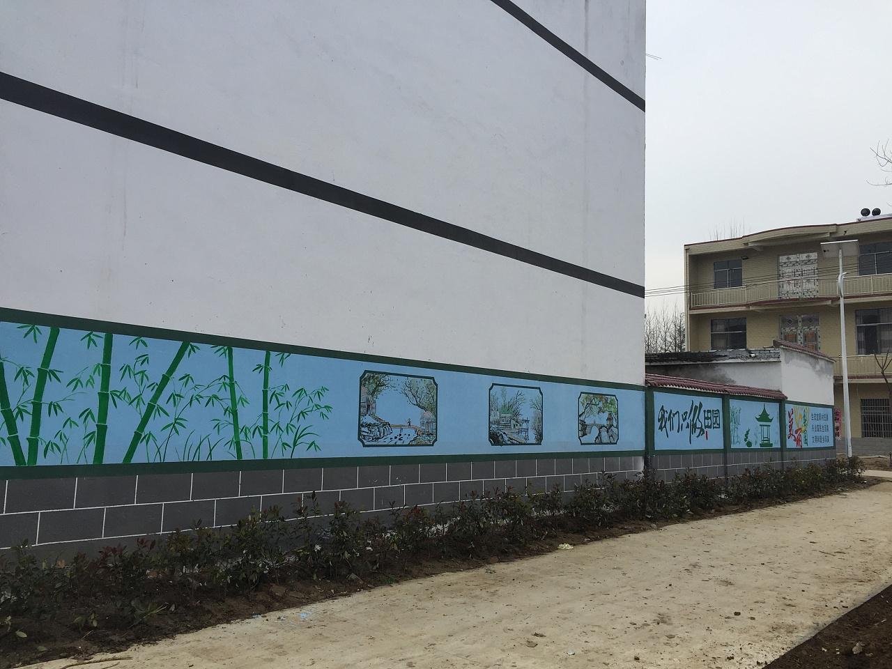 景德镇画画涂鸦,景德镇墙画彩绘,景德镇墙体绘画公司,景德镇新农村墙体彩绘
